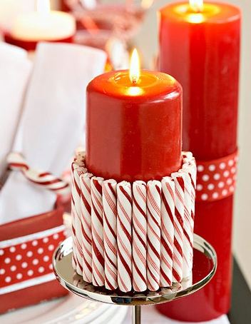 Do it yourself christmas candy cane candle velas y decoracin do it yourself christmas candy cane candle solutioingenieria Gallery