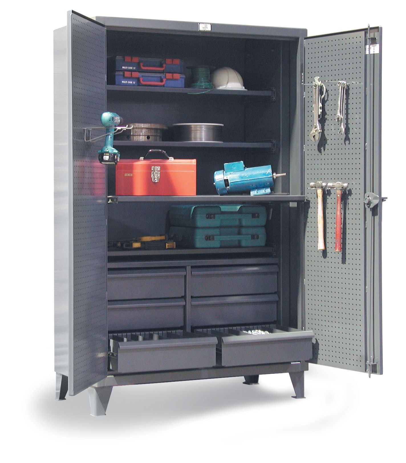Workstation Cabinet   The Combination Shelf And Drawer Cabinet For When You  Need A Few Drawers