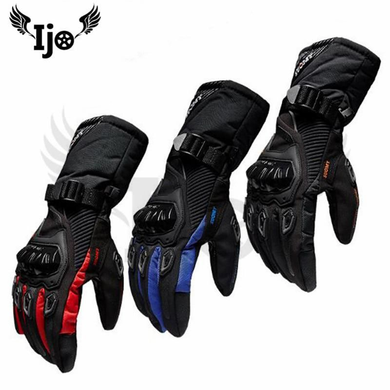 Skiing Windproof motor Anti fall winter heated motorbike men's woman biker scoot…