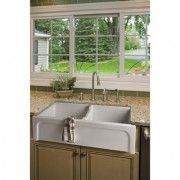 Brass & Traditional Sinks Hanbury Double Kitchen Sink