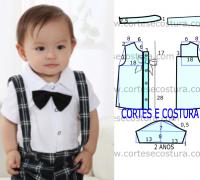 Modelo de la camisa libre de los niños