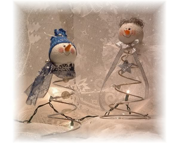 bed spring crafts | snowman noddler - Crafts and Decorations Forum - GardenWeb