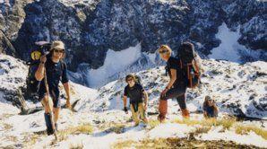 Hiking over the Three Passes #Newzealand