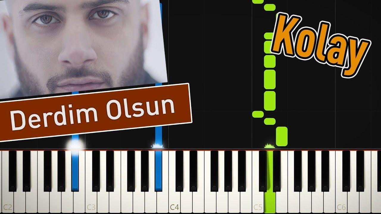 Reynmen Derdim Olsun Kolay Piano Tutorial Deri Muzik Olinda