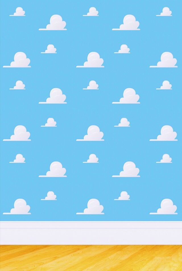 Toy Story Iphone Background Toy Story Clouds Disney Wallpaper