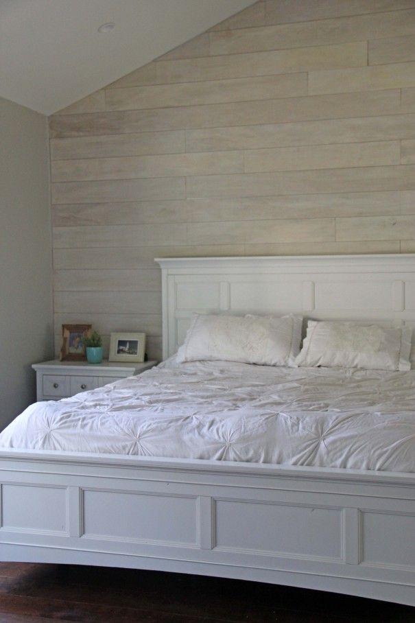 White Washed Plank Walls Diy Ana White Inspired Diy