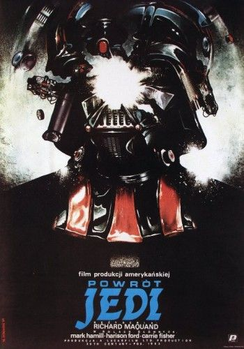 An alternative poster design to Return Of The Jedi
