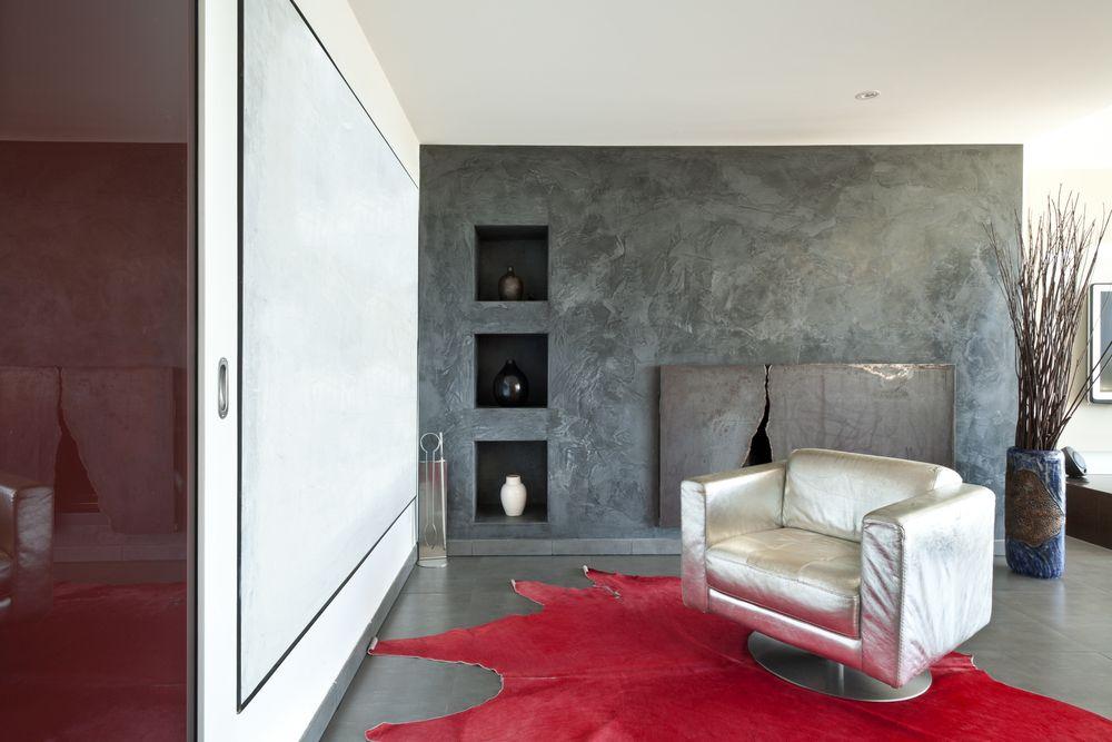 Een betonverf voor uw woonkamer is makkelijk aan te brengen. U ...