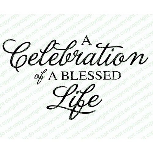 Connect with CELEBRATION TEMPLATES to download unlimited range of - celebration of life templates