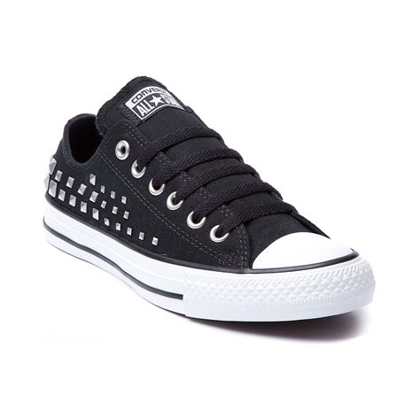 a2b4386b06a2ec Shop for Converse All Star Lo Studded Sneaker in Black at Journeys Shoes.  Shop today for the hottest brands in mens shoes and womens shoes at Journeys .com.