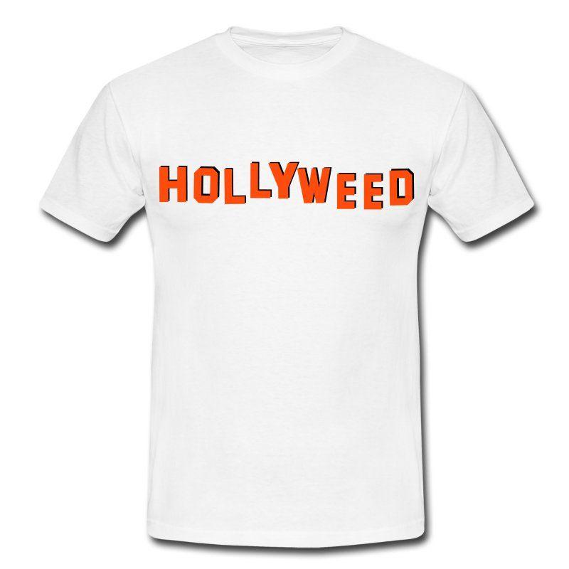 Cannabis Hollywood   Hollyweed   T-shirt Homme   Cannabis cb80322ce9a3