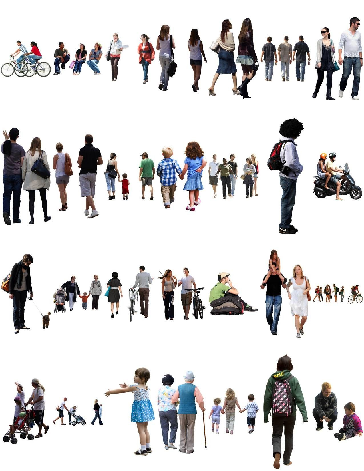 Texture png people 2d cutout | Auto Body aesthetics | Pinterest | 2d for Crowd Of People Top View Png  56mzq