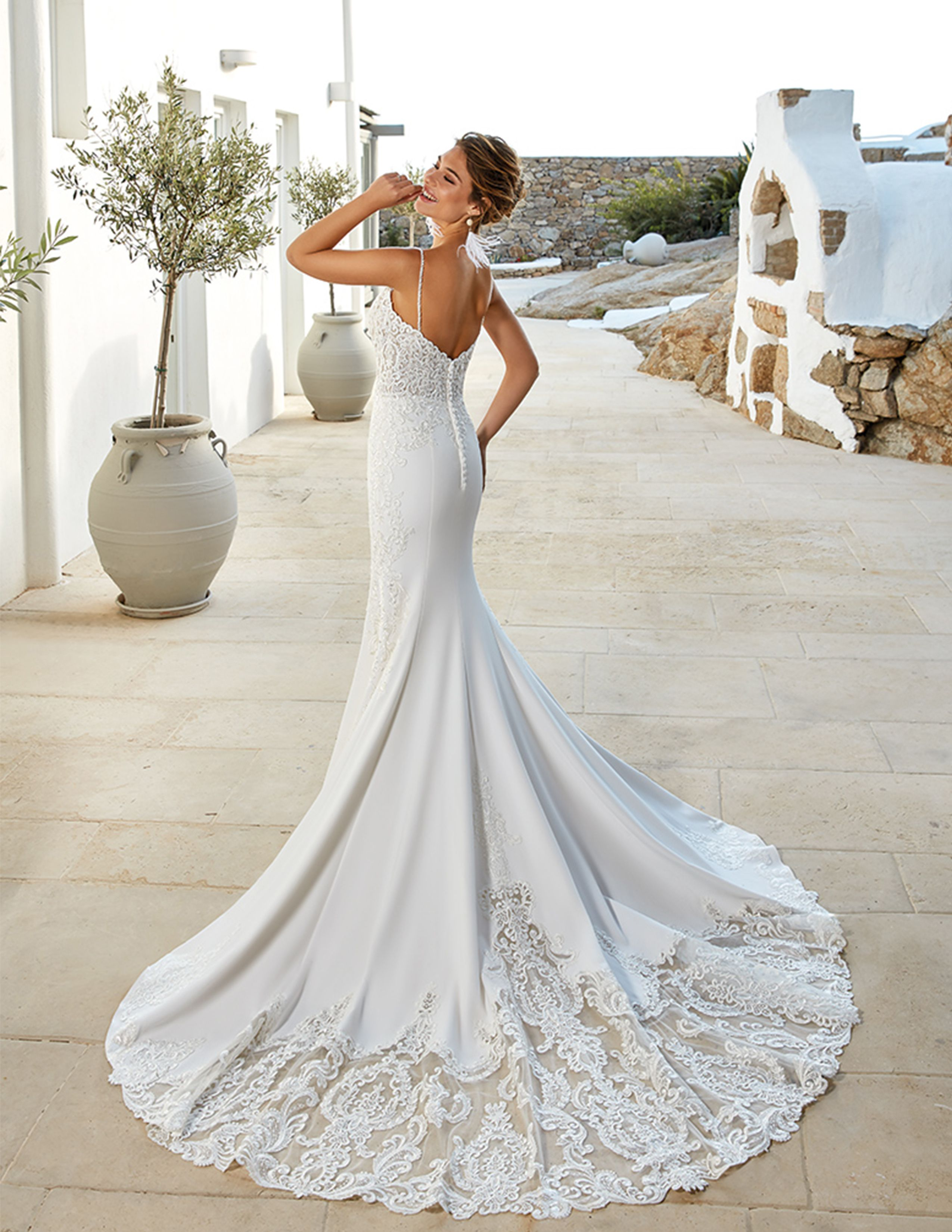 Wedding Dress Reina Seattle Wedding Dress Mermaid Wedding Dress Designer Bridal Gowns [ 3300 x 2550 Pixel ]