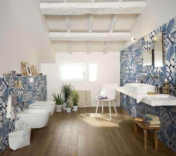 arredare con le piastrelle maioliche bellissimi bagni