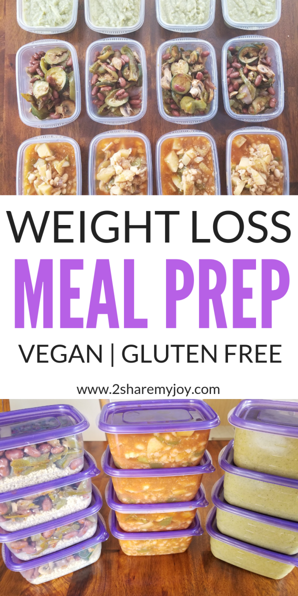 Vegan Weight Loss Meal Prep For One Week (gluten free) images