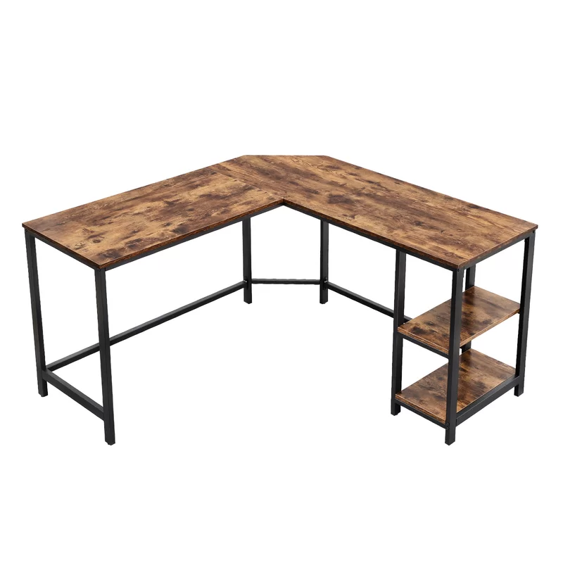Enprise L Shape Desk Ecktisch Schreibtisch Modern Platz Sparen
