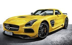 mercedes sls black series.... new kinda muscle car