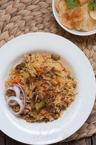 Easy vegetable biryani recipe pressure cooker rice cooker method easy vegetable biryani recipe pressure cooker rice cooker method forumfinder Image collections