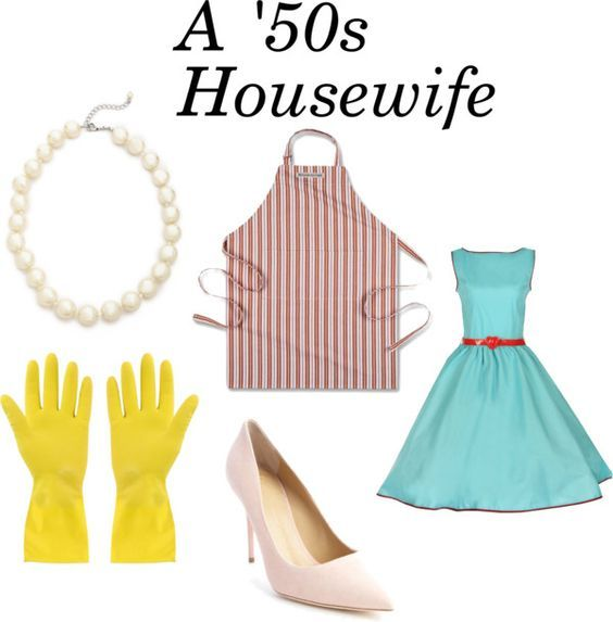 Cute housewife homemade