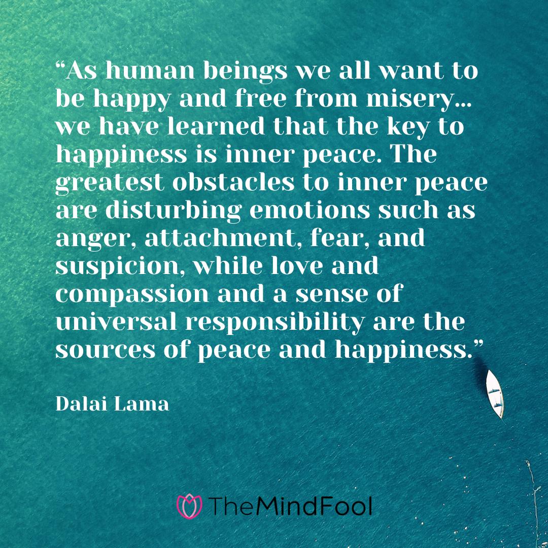 Dalai Lama Quotes On Discipline
