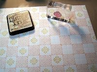 Make your own patterned paper