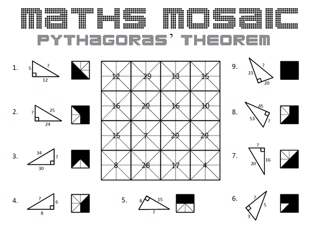 Pythagorean Theorem Worksheet Pythagorean Theorem Practice Problems