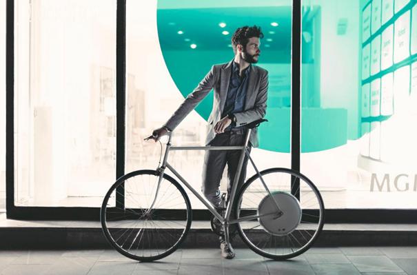 fiets maken van gewone fiets