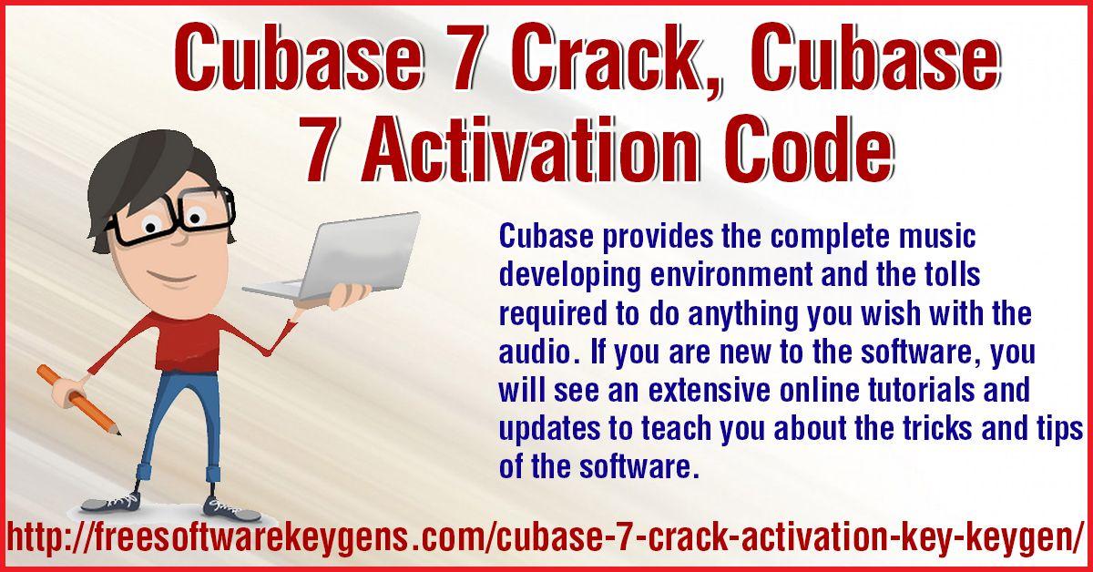 cubase 7 elicenser activation code keygen