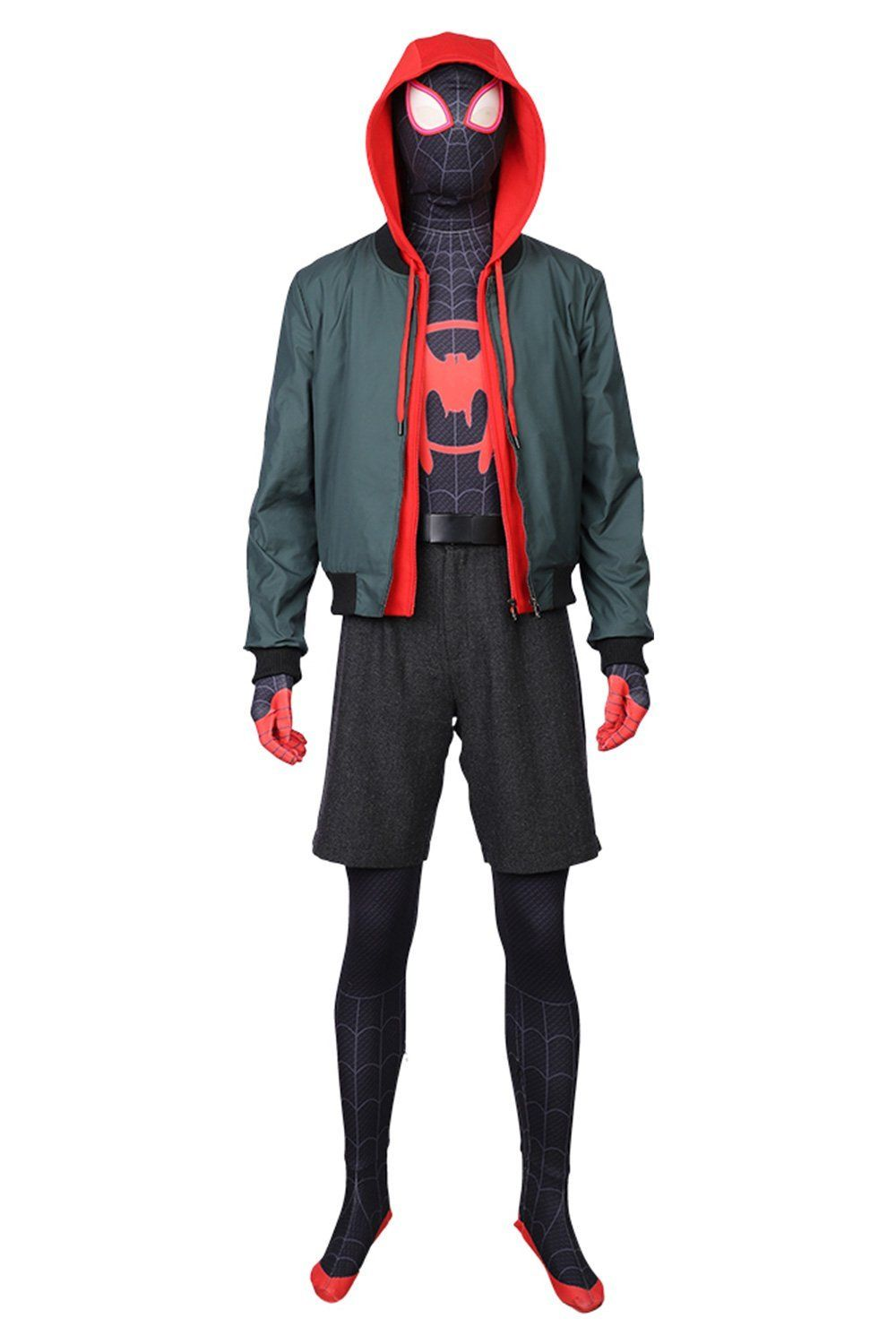 Cool Kids Spiderman Child Youth Costume Set Hoodie Pants ...