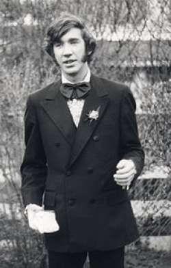 Young Alan Rickman | Alan rickman, Alan rickman harry