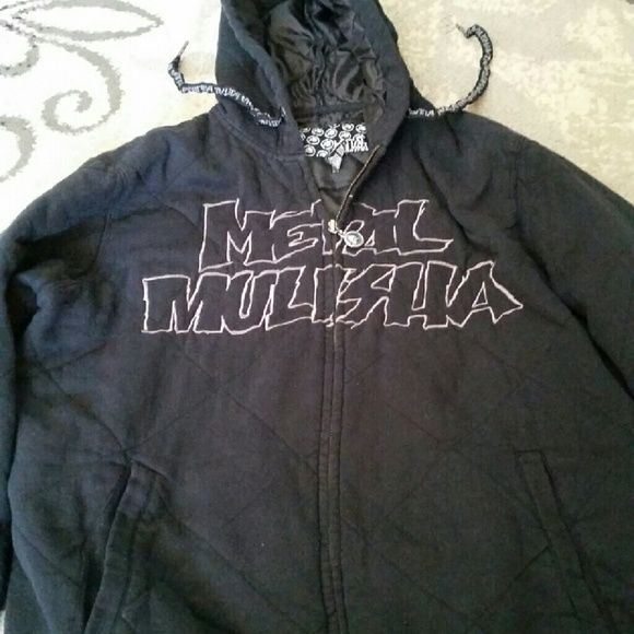 Metal mulisha jacket Black metal mulisha jacket size medium. Still in good condition metal mulisha Jackets & Coats