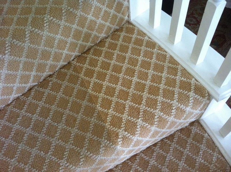 Pattern Carpet On Stairs
