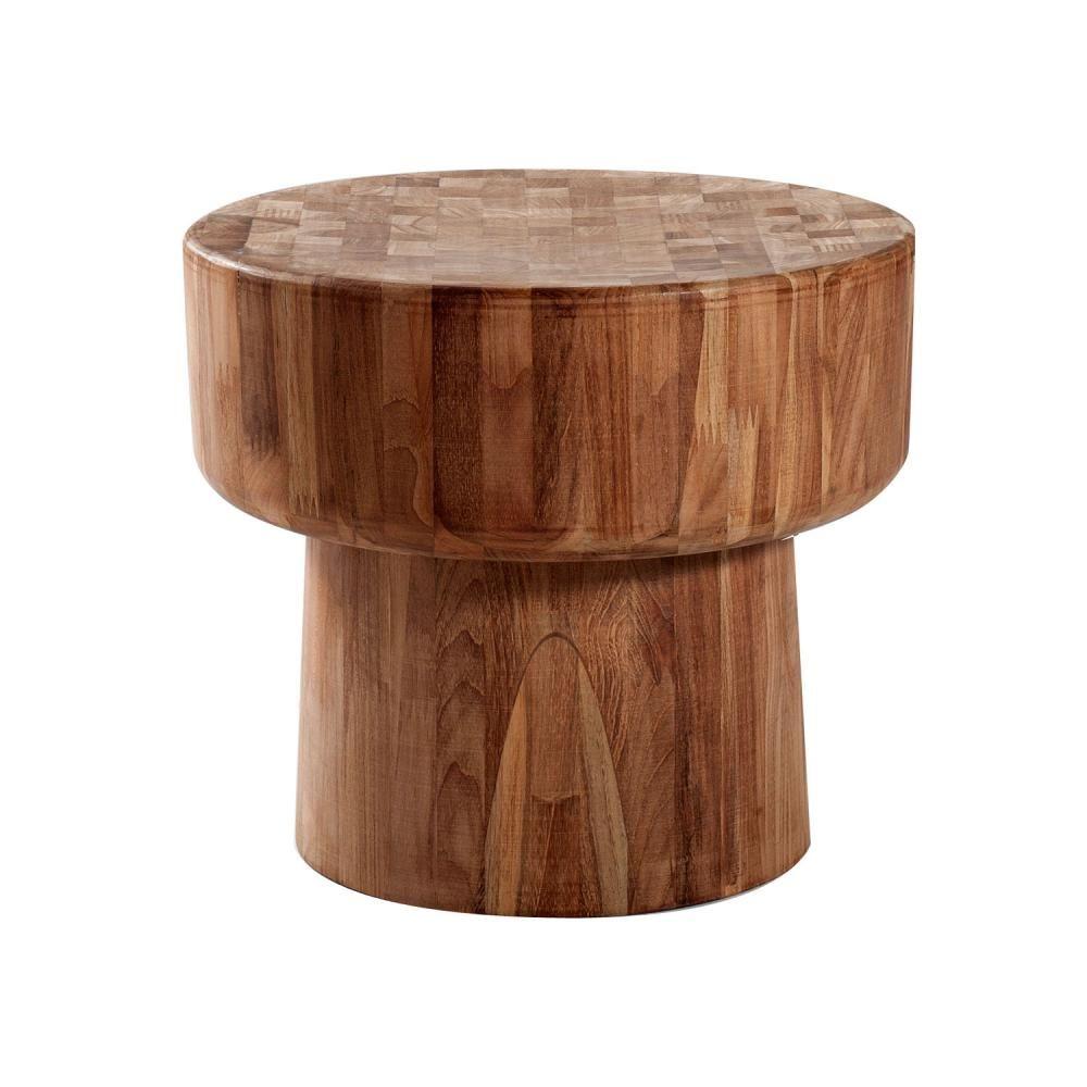 Modern wood side table  Ethnicraft Pop Low Table  Clickon Furniture  Designer Modern