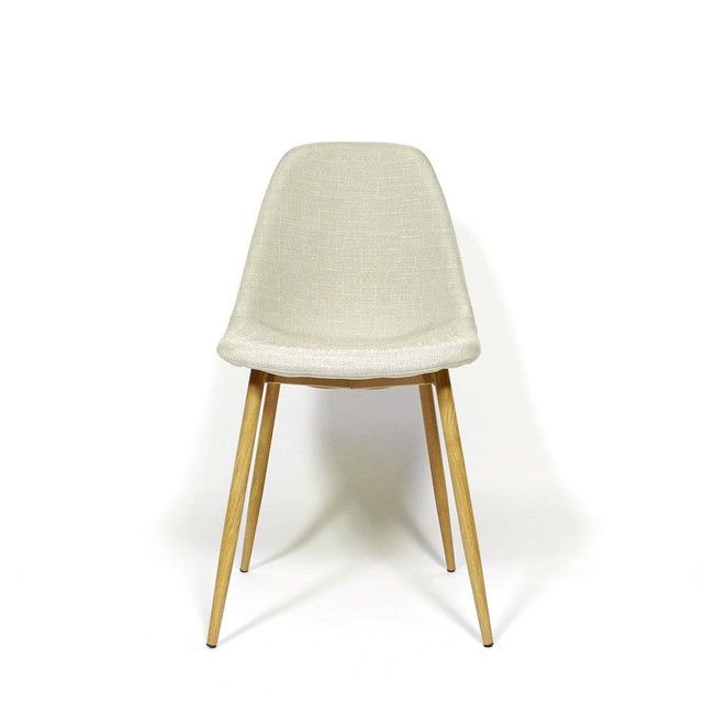 Chaise scandinave en tissu MIA4GC Pinterest