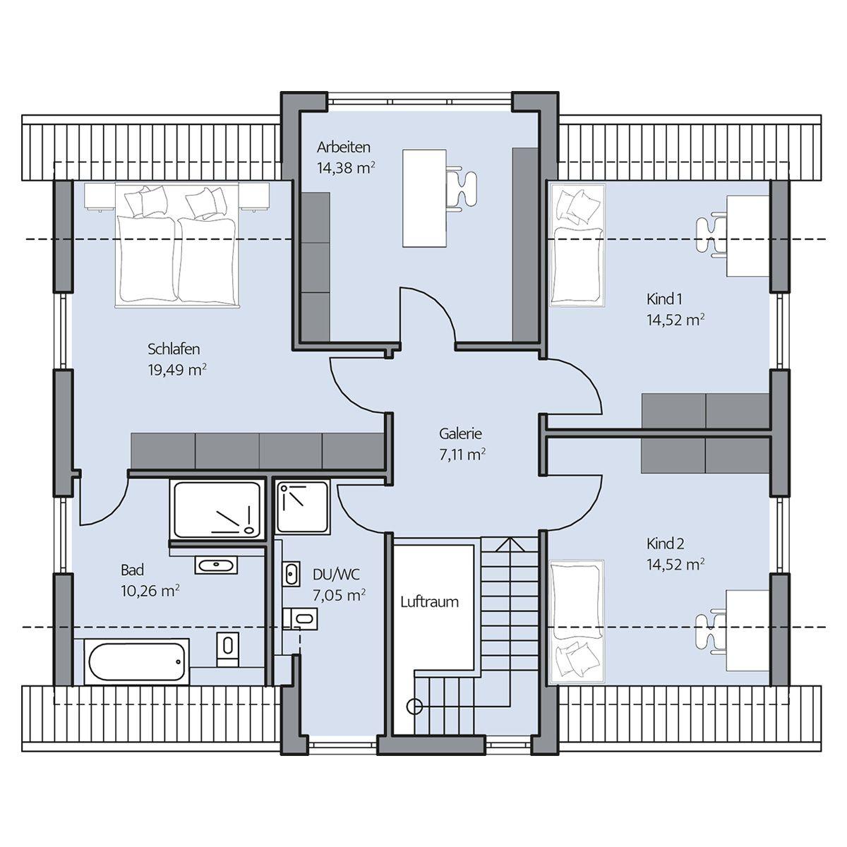 Haus-Arnold_Grundriss_DG_bemasst_col16-hg.jpg (1200×1200 ...