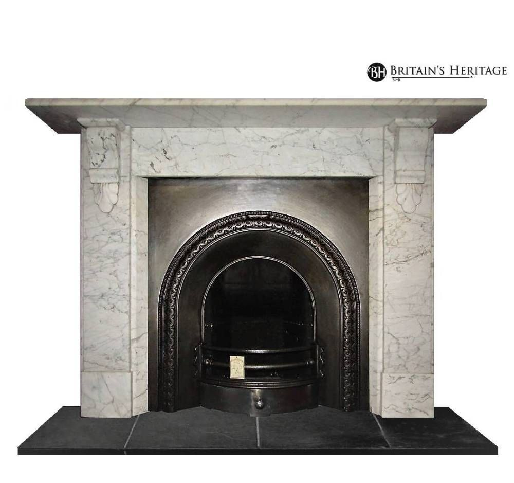 Antique Carrara Marble Victorian Surround Reference Ambs129 Price 2450 Victorian Fireplace Carrara Marble Marble Fireplaces