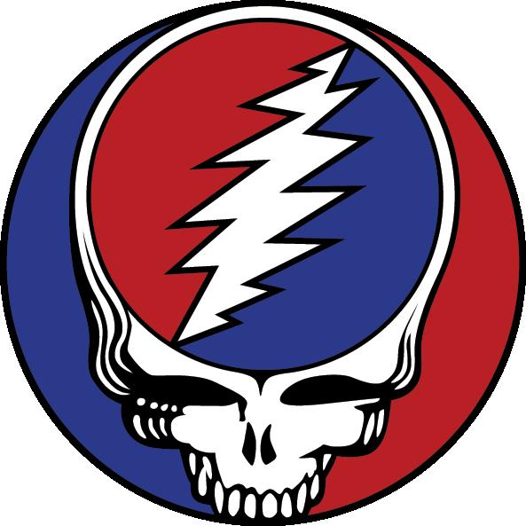 Grateful Dead Logo Grateful Dead Sticker Grateful Dead Logo Grateful Dead