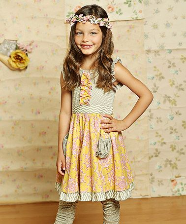 Another great find on #zulily! Sunny Gray Cozette Dress - Infant, Toddler & Girls #zulilyfinds