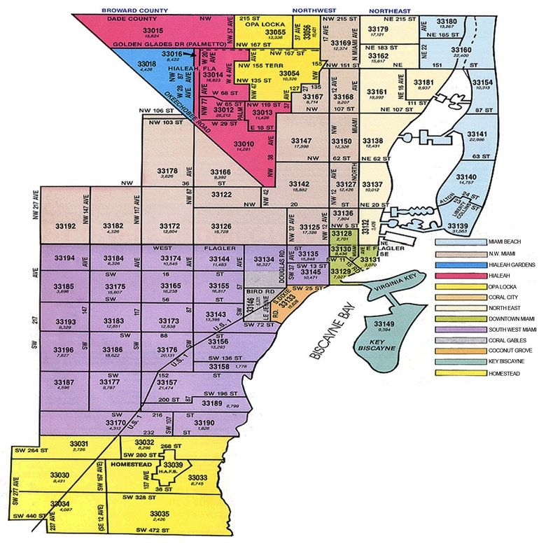 Miami Dade County Zip Code Map Miami Dade Zip Code Map miami dade zip code map mario adler 800 X