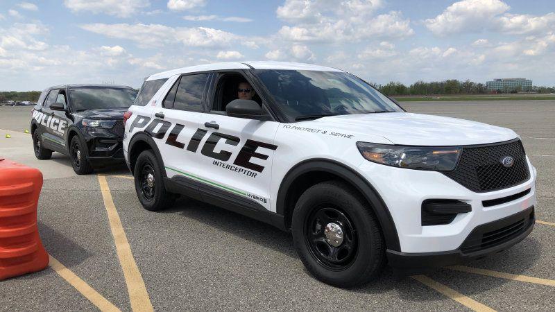 Ford Police Interceptor Utility Hybrid Review Police For A Day Ford Police Police Cars Police