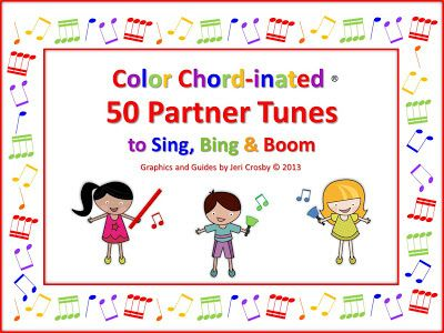 MyMusicalMagic: Partner Song Freebie