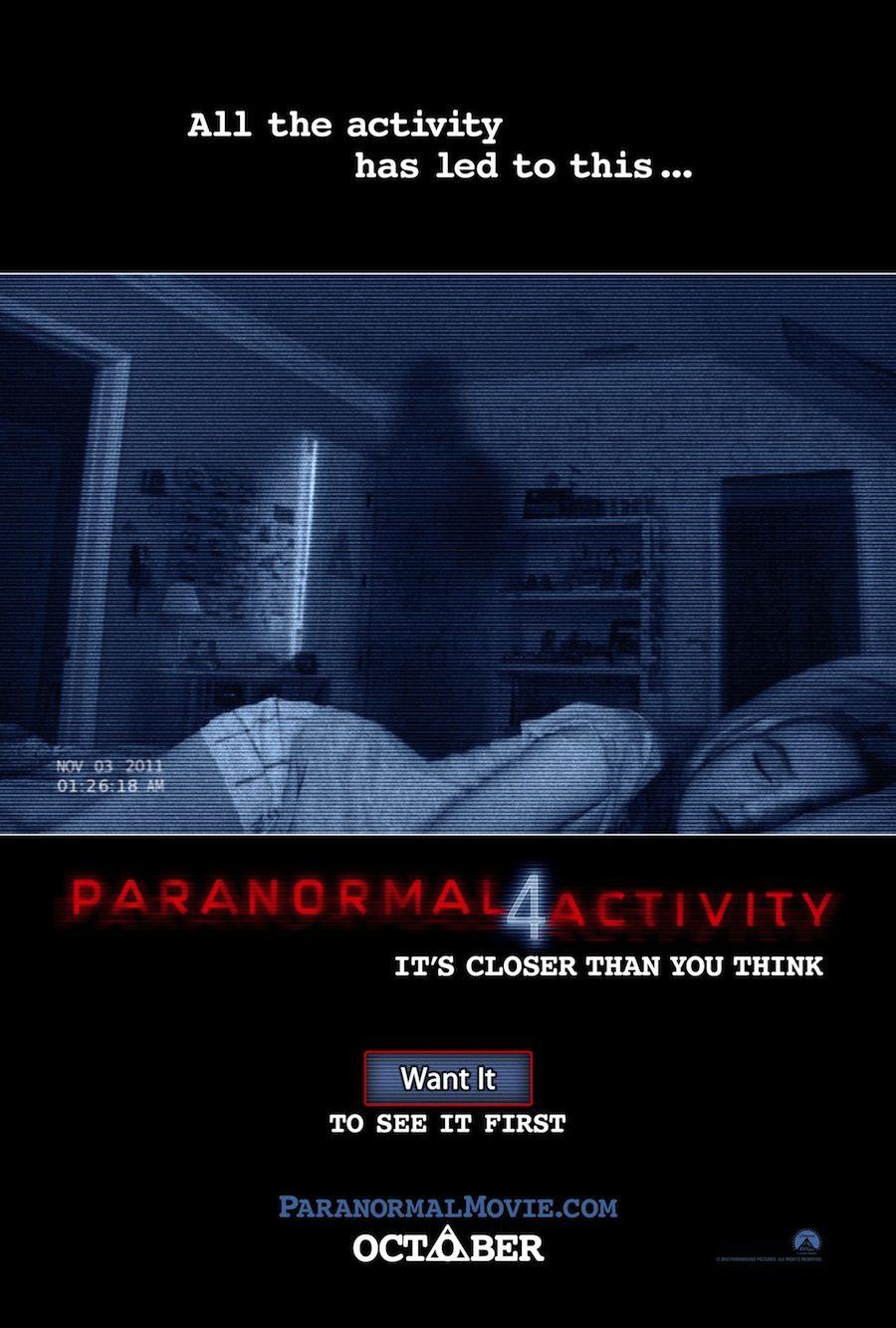 Paranormal Activity 4 Paranormal Activity 4 Paranormal Activity Movie Paranormal Activity