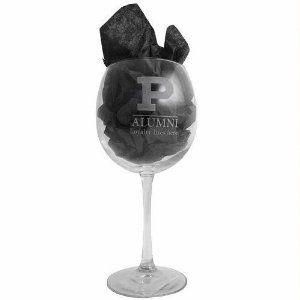 Purdue University Wine Glass