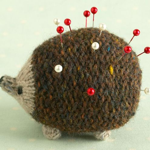 Knitting Pattern For A Little Oddment Hedgehog Knitting