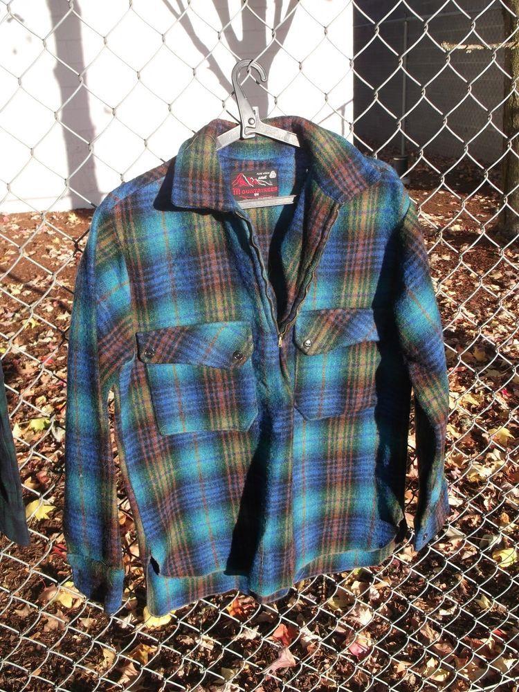 Standfast Mountaineer 100 Pure Virgin Wool Shirt Men S S Half Zip New Zealand Fashion Clothing Shoes Acces Vintage Clothing Men Wool Shirt Vintage Outfits