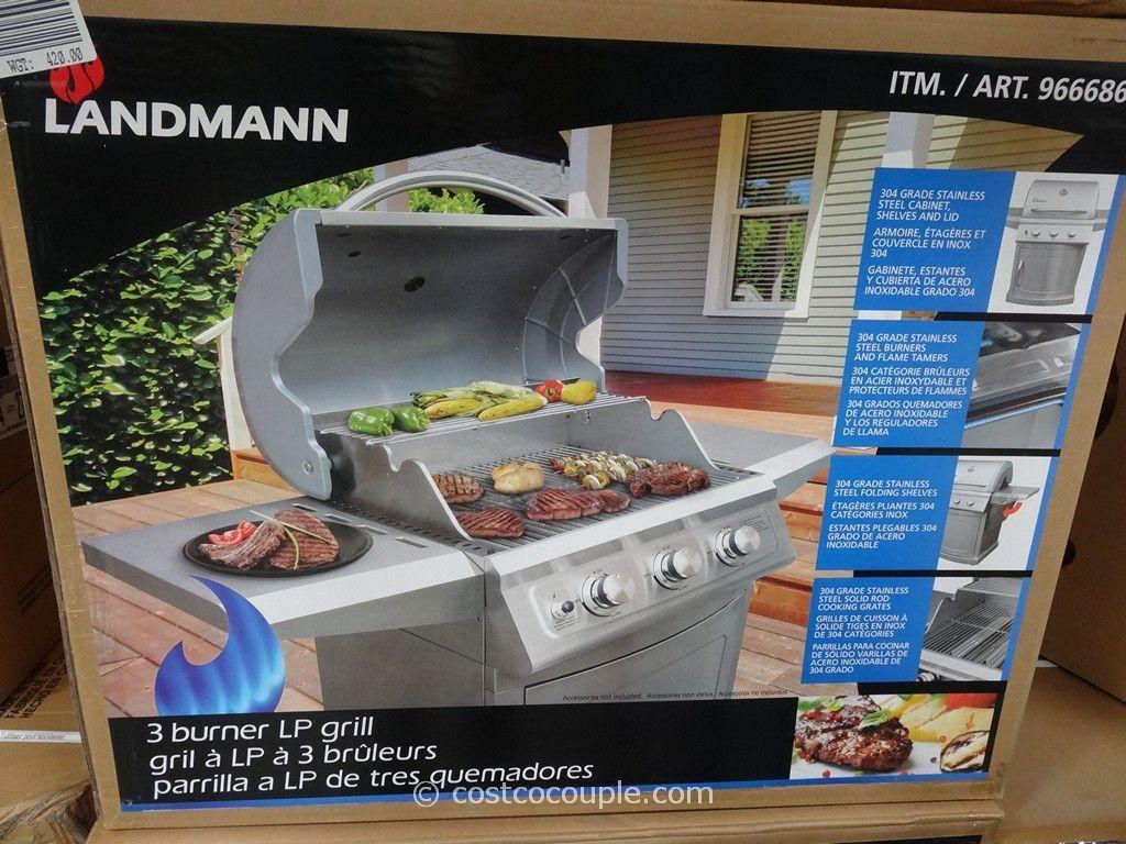Landmann Gasgrill Inox : Lavastein gas grill gasgrill grillwagen landmann ebay
