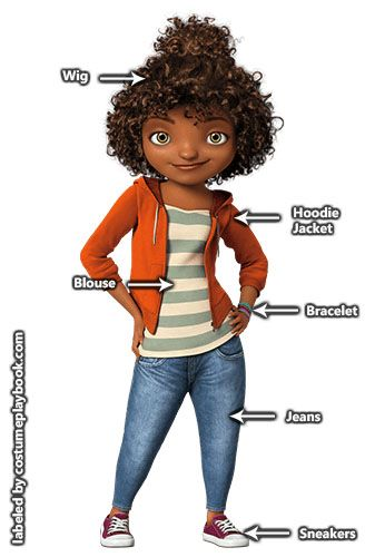 Gratuity Tip Tucci costume 3 Dreamworks Cosplay Ideas