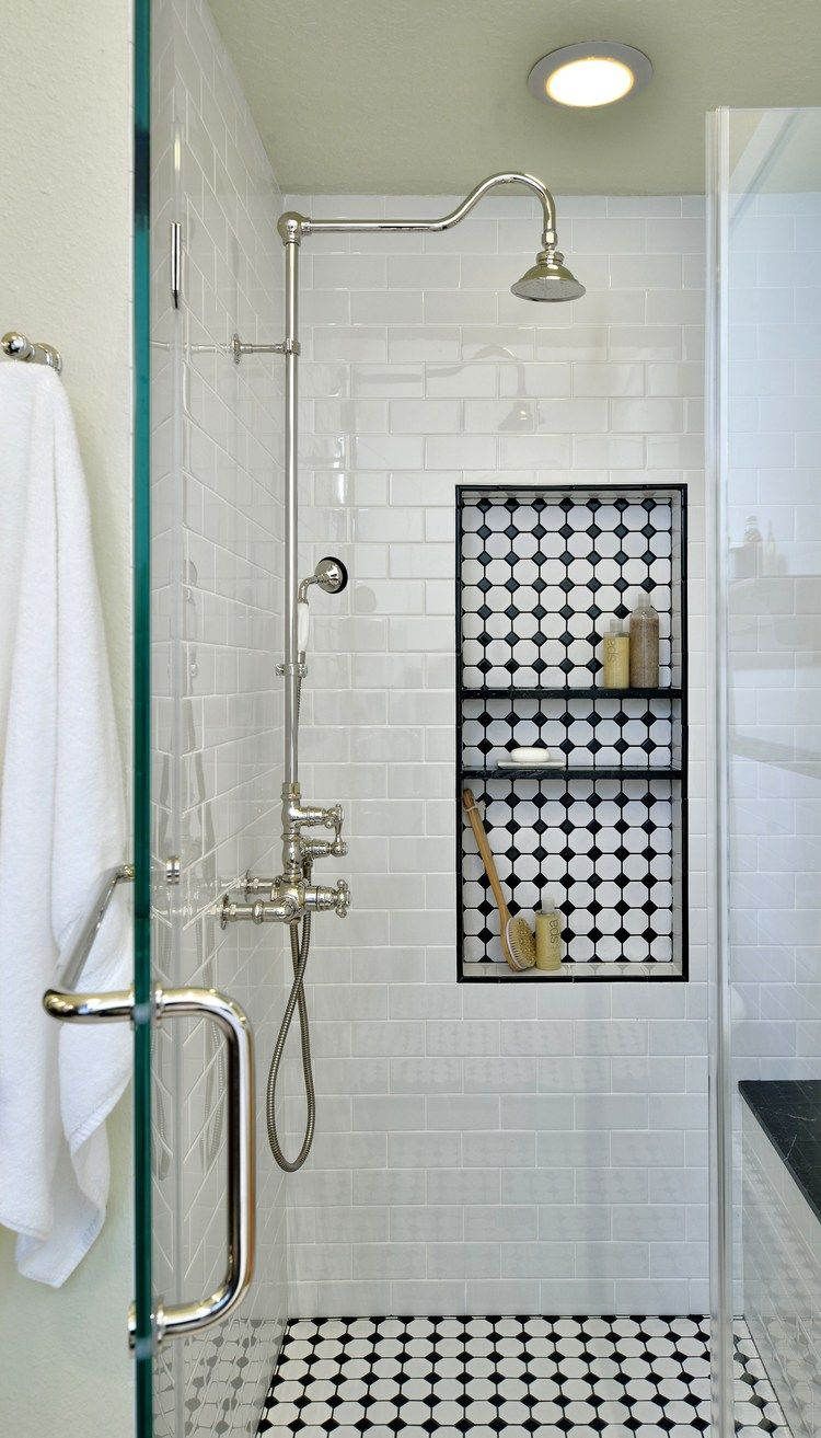Before u after this vintageinspired master bathroom is an instant
