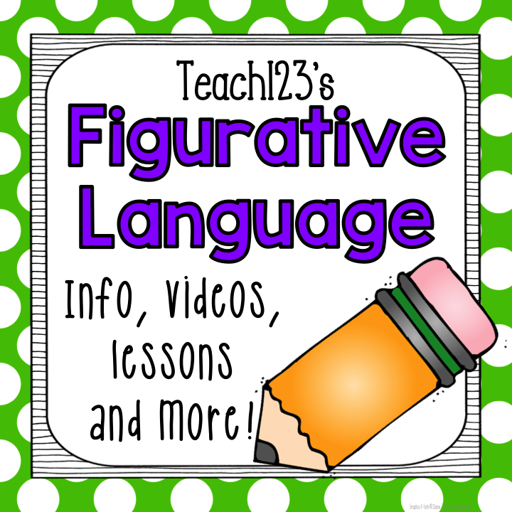 Figurative Language: Pinterest board full of information, videos, lessons, games and more.