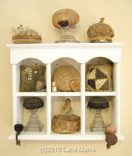 antique pincushions in my collection